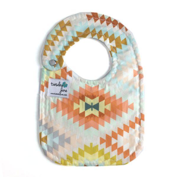 Brave - Sandstone Weave Baby Bib