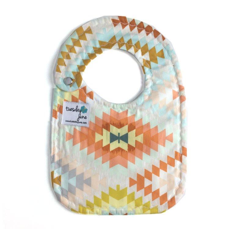 Brave – Sandstone Weave Baby Bib