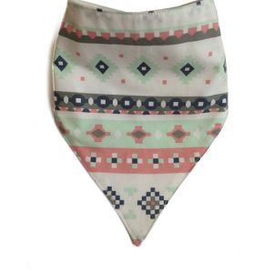 Mint Native Bandana Bib