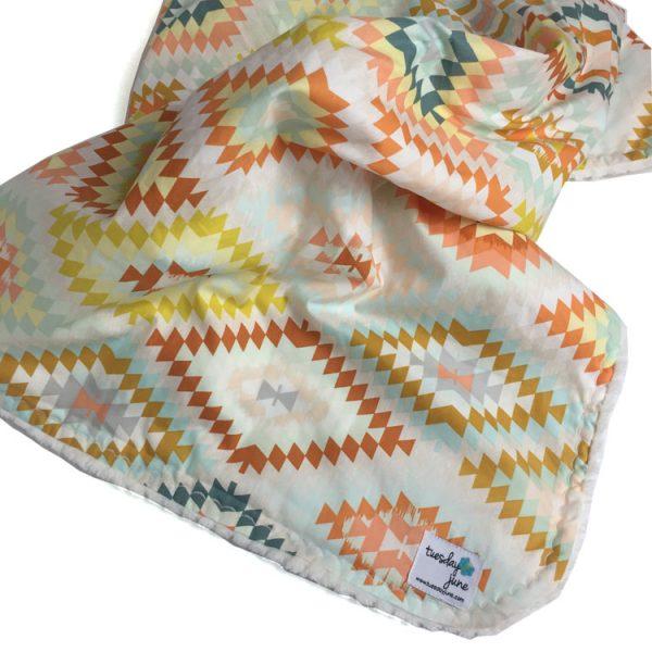 Brave - Sandstone Weave Baby Blanket