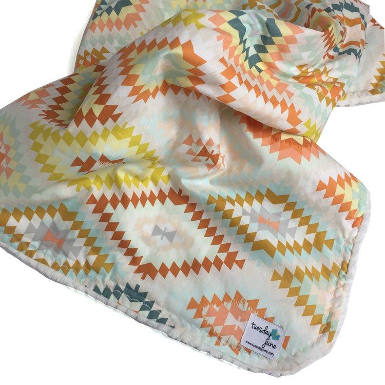 Brave – Sandstone Weave Baby Blanket