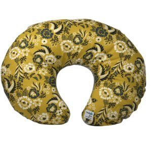 Marigold Floral Organic Nursing Pillow Cover