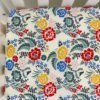 Boho Floral Organic Fitted Crib Sheet