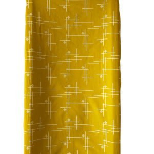 Marigold Starburst Organic Changing Pad Cover