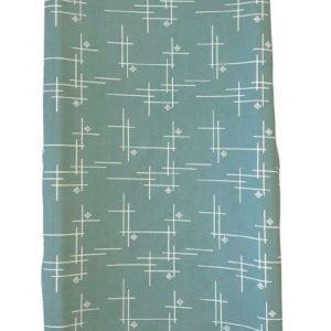 Mineral Green Starburst Organic Changing Pad Cover