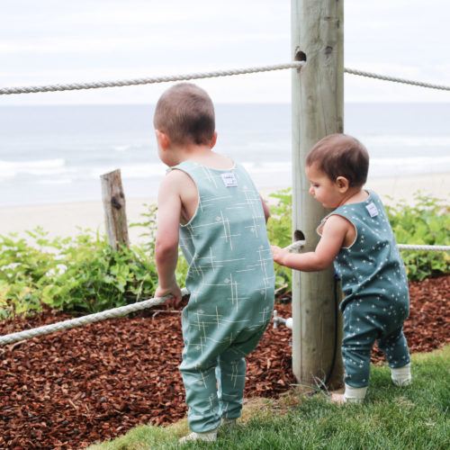 Seaside Rompers